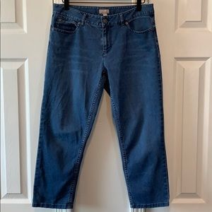 J. Jill crop jeans